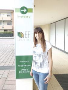 Elena Frigo di EF Superfici a Costabissara (Vicenza)