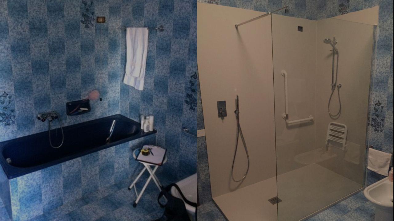 Sostituzione vasca da bagno con doccia: a Vicenza EF Superfici è il tuo riferimento ideale con soluzioni chiavi in mano. Eseguiamo il servizio di trasformazione vasca in doccia anche a Padova, Treviso, Verona
