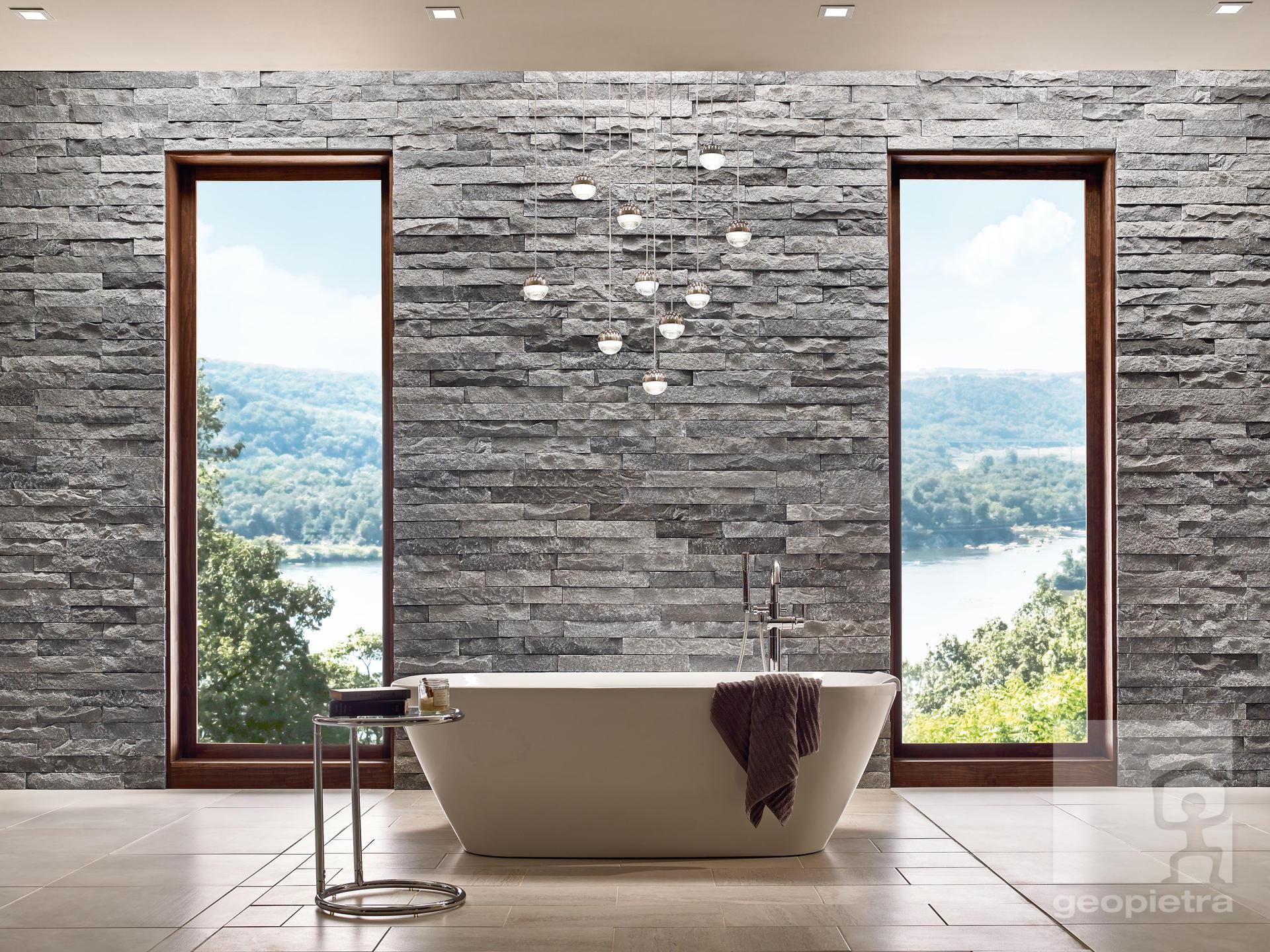 Come Rivestire Un Muro Interno rivestimenti bagno e cucina, pareti decorative in pietra e