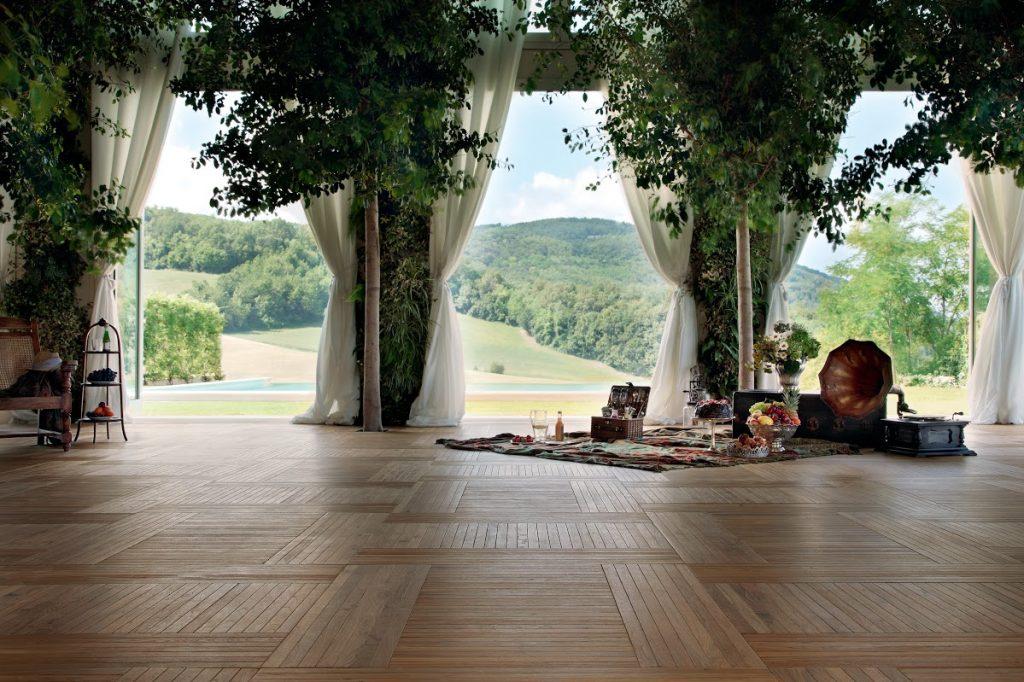 Pavimenti in legno per esterni a Vicenza