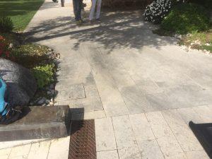 Rifacimento pavimentazione esterna a Vicenza